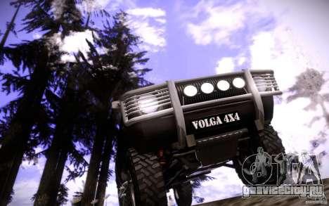 ГАЗ 2402 4x4 PickUp для GTA San Andreas салон