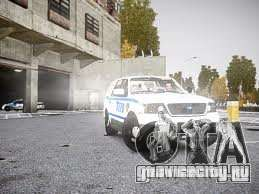 Ford Expedition Truck Enforcement для GTA 4 вид слева