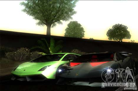 Lamborghini Gallardo LP570-4 Superleggera для GTA San Andreas