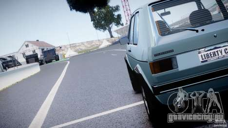 Volkswagen Golf Mk1 для GTA 4 вид сбоку