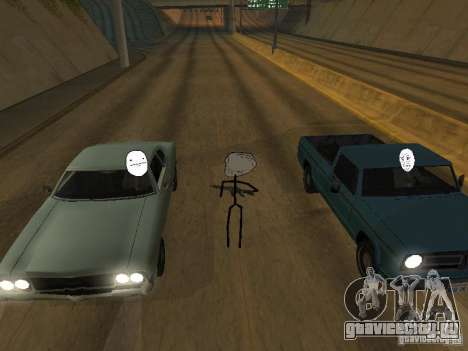 Meme Ivasion Mod для GTA San Andreas одинадцатый скриншот