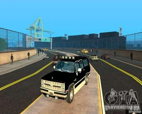Сhevrolet Suburban 1986 для GTA San Andreas