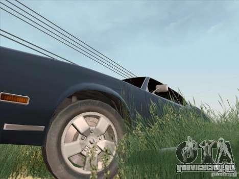 Sabre HD для GTA San Andreas вид справа