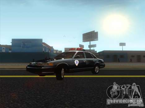 Ford Crown Victoria 1992 Detroit OCP для GTA San Andreas