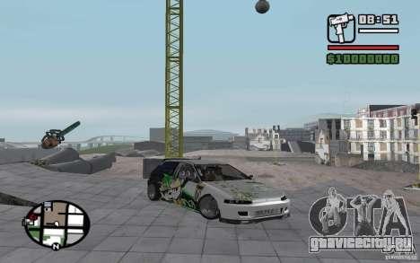 Honda Сivic drift для GTA San Andreas