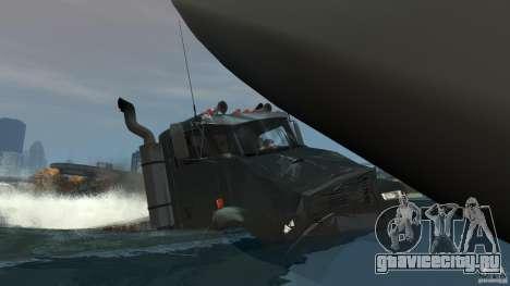 Biff boat для GTA 4 двигатель