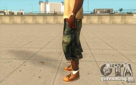 The BIG Makaveli Short Jeans для GTA San Andreas второй скриншот