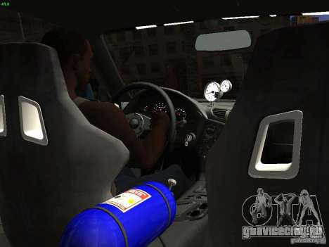 Mazda RX 7 Veil Side для GTA San Andreas вид сзади