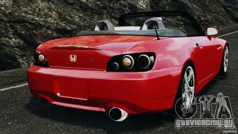 Honda S2000 v1.1 для GTA 4 вид сзади слева