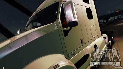 Kenworth T700 2010 Final для GTA 4 вид сзади