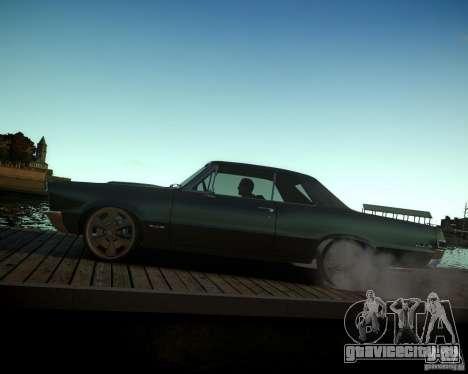 Pontiac GTO DF для GTA 4 вид сверху