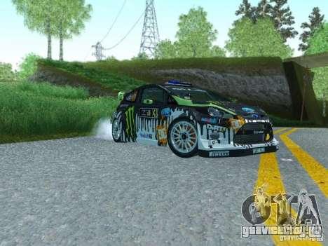 Ford Fiesta Ken Block Dirt 3 для GTA San Andreas