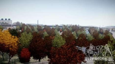 Realistic trees 1.2 для GTA 4 пятый скриншот