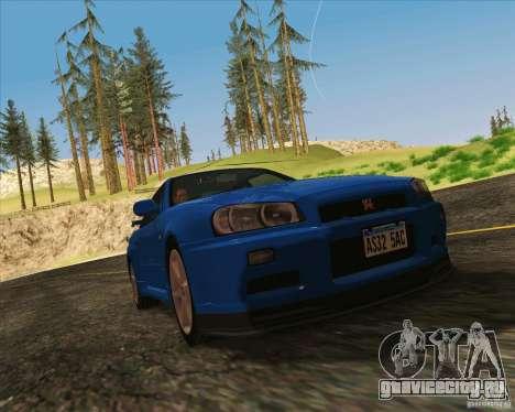NFS The Run ENBSeries by Sankalol для GTA San Andreas четвёртый скриншот