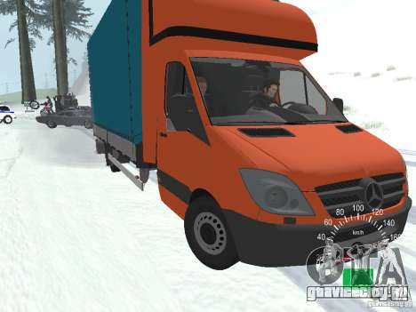 Mercedes-Benz Sprinter 518 MAXI 2007 для GTA San Andreas