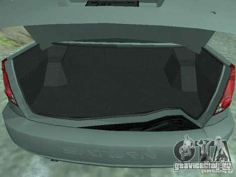 Saturn Ion Quad Coupe 2004 для GTA San Andreas вид сзади