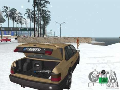 Volkswagen Passat B3 для GTA San Andreas вид сверху