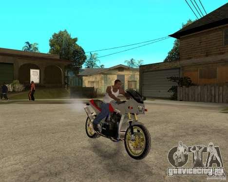 Kawasaki Ninja Tuning для GTA San Andreas вид справа