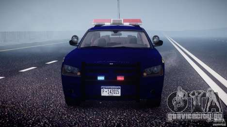 Dodge Charger NY State Trooper CHGR-V2.1M [ELS] для GTA 4 салон