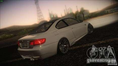 BMW M3 E92 для GTA San Andreas вид слева