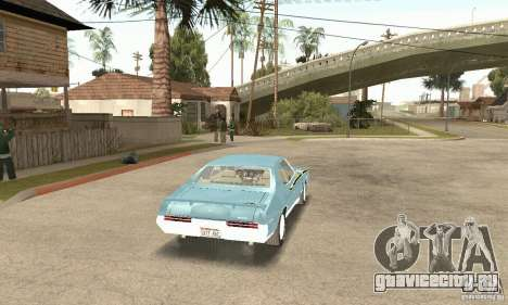 Pontiac GTO The Judge для GTA San Andreas вид слева