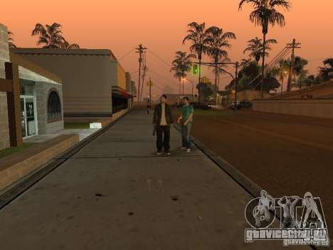 Los Santos Protagonists для GTA San Andreas третий скриншот