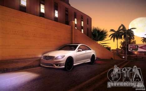Mercedes Benz CL65 AMG для GTA San Andreas салон
