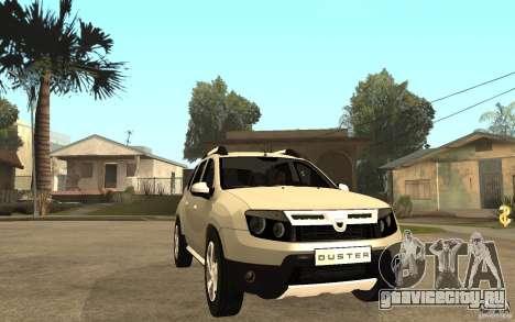 Dacia Duster 2010 SUV 4x4 для GTA San Andreas вид сзади