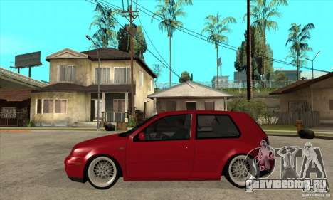 VW Golf 4 V6 Bolf для GTA San Andreas вид слева