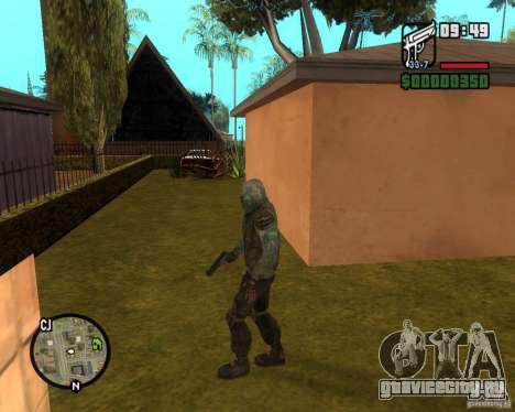 Сталкер из Чистого Неба для GTA San Andreas второй скриншот