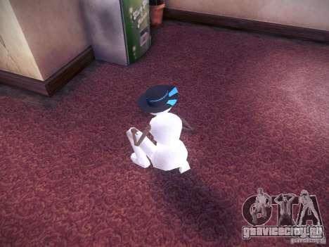 Снеговик для GTA San Andreas третий скриншот