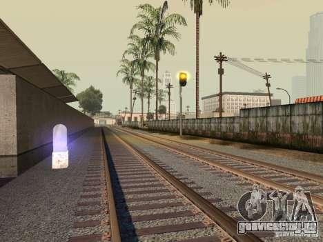 Железнодорожные светофоры для GTA San Andreas