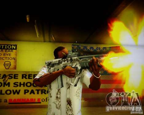 Tavor Tar-21 Digital для GTA San Andreas