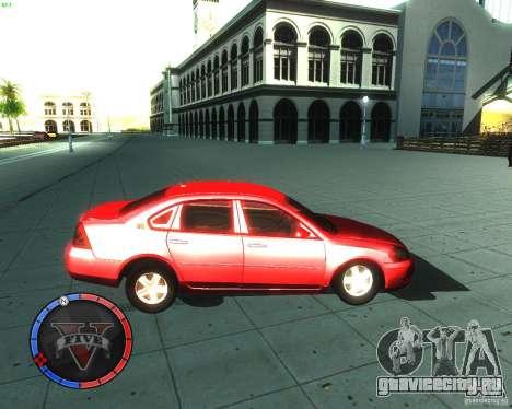 Chevrolet Impala 2008 для GTA San Andreas вид слева