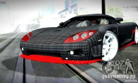 Koenigsegg CCX для GTA San Andreas вид слева