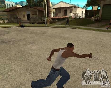 Wolverine mod v1 (Россомаха) для GTA San Andreas шестой скриншот