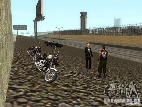 Реалистичная школа байкеров V1.0 для GTA San Andreas