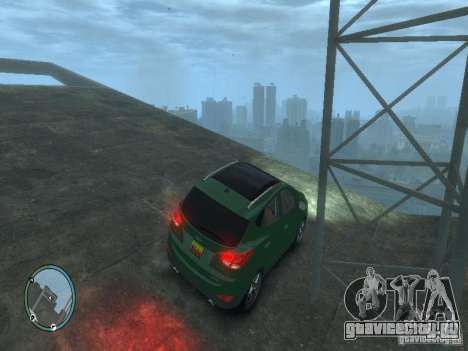 Hyundai iX35 2010 Final для GTA 4 вид слева