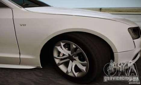 Audi S5 для GTA San Andreas вид сбоку