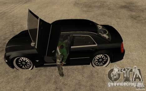 Chrysler 300C DUB для GTA San Andreas вид слева