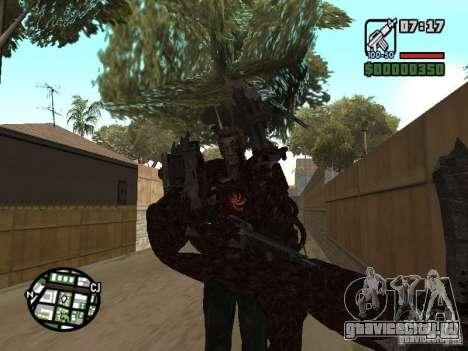 Вескер Уроборос для GTA San Andreas пятый скриншот