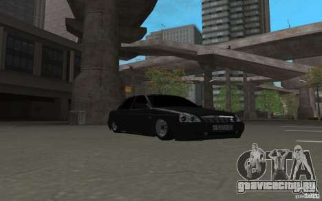 ЛАДА Приора light tuning v.2 для GTA San Andreas вид слева