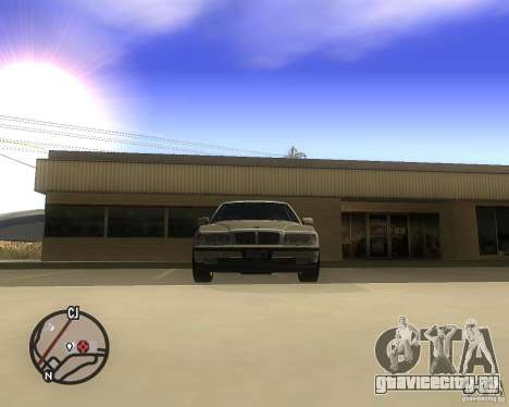 BMW 750il Limuzin для GTA San Andreas вид справа