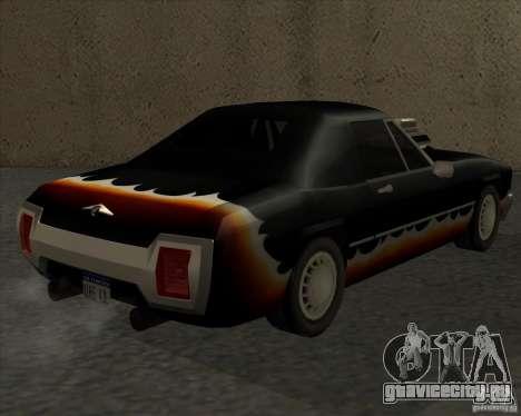 HD Diablo для GTA San Andreas вид слева