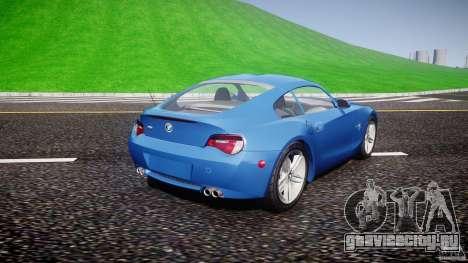 BMW Z4 Coupe v1.0 для GTA 4 вид слева
