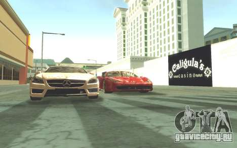 ENB v3.0 by Tinrion для GTA San Andreas второй скриншот
