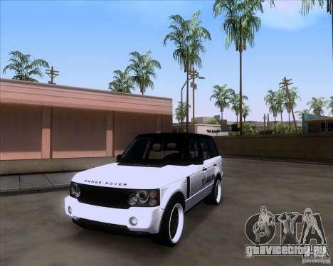 Range Rover Hamann Edition для GTA San Andreas вид справа