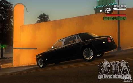 Rolls-Royce Phantom EWB для GTA San Andreas вид слева