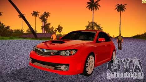 Subaru Impreza WRX STI (GRB) - LHD для GTA Vice City
