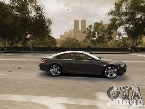 BMW M6 2010 для GTA 4 вид сбоку